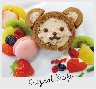 けんけんのロールケーキのイメージ