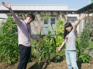 5月12日(土)夏野菜植え
